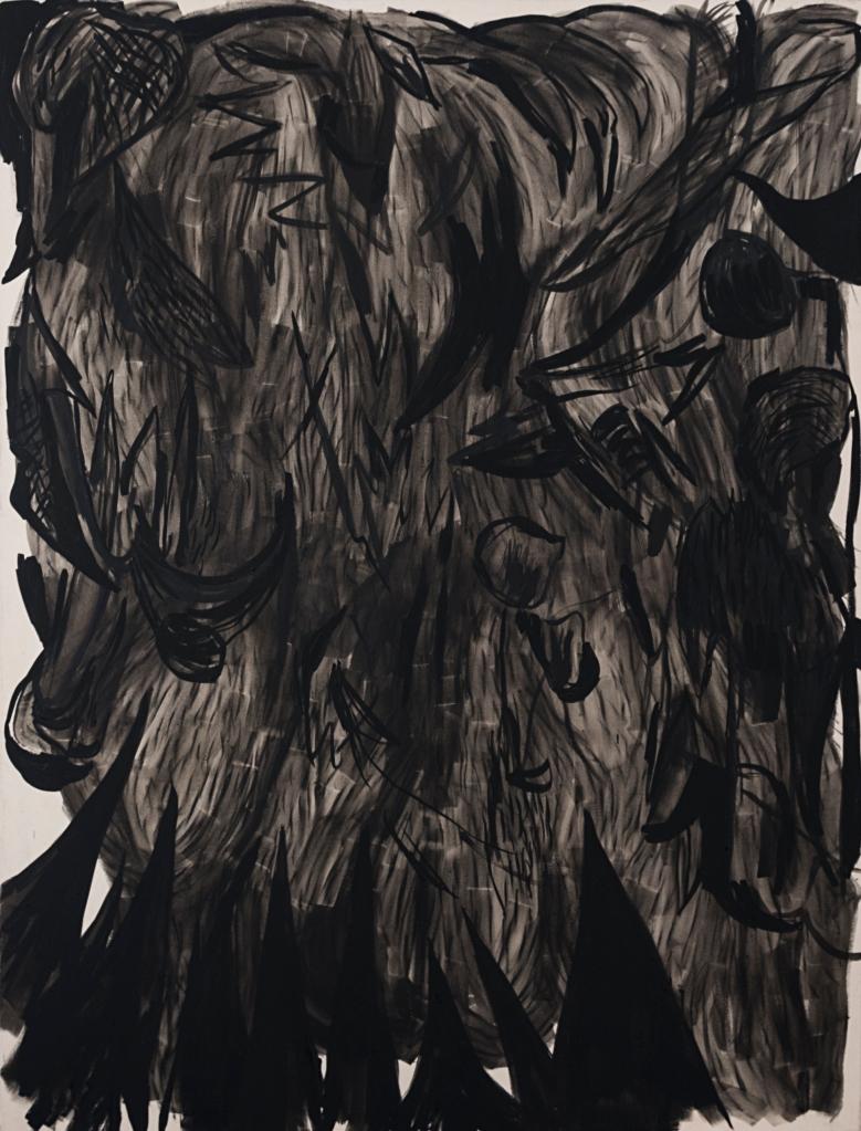mouches volantes 2020, oil on canvas, 190 x 145cm