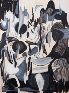 in love with oblivion2020, oil on canvas, 195 x 145cm